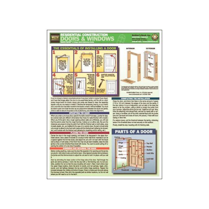Residential Construction Doors & Windows