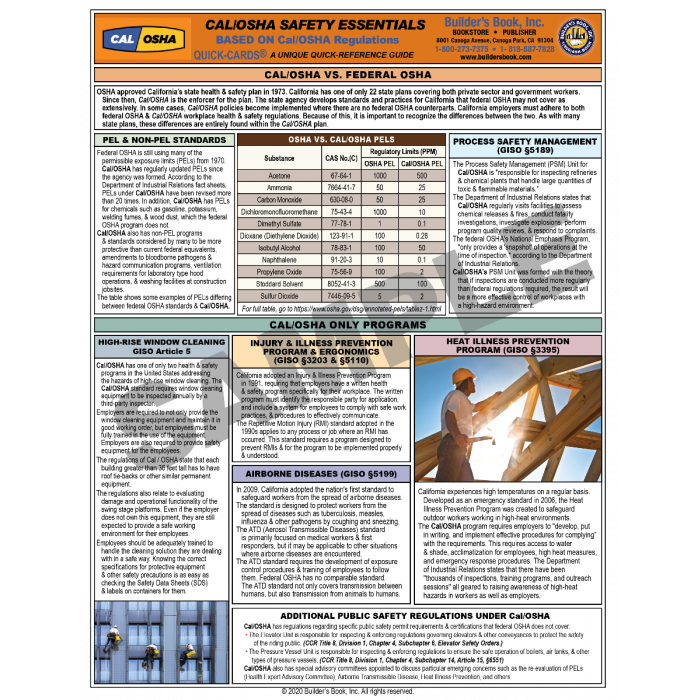 Cal/OSHA Safety Essentials